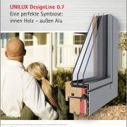 Holz Alu Designline 180x180 - Fenster