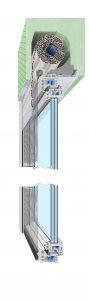 Rollladen FE10 89x300 - Fenster