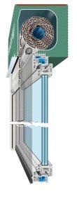 Rollladen FE1 Kaelte Stop 110x300 - Fenster