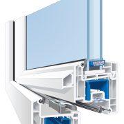 weru castello flaechenversetzt profilschnitt 180x180 - Fenster