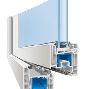 weru sereno flaechenversetzt profilschnitt 180x180 - Fenster